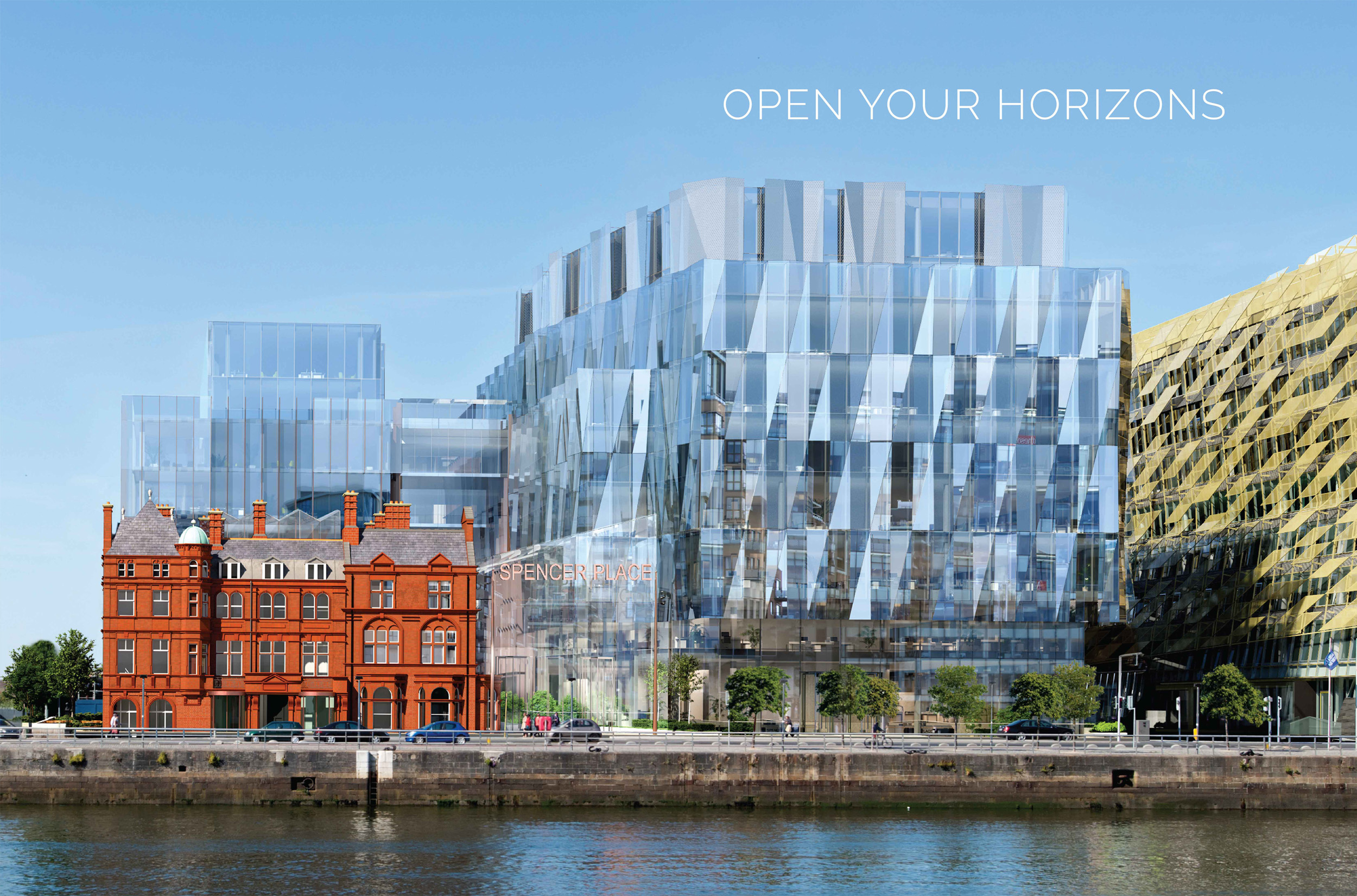 SALESFORCE TOWER – SPENCER PLACE DUBLIN